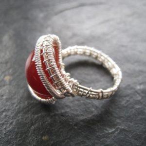 Ringe silver filled